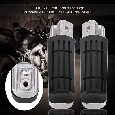 2X FRONT FOOTREST PEDALS FOOT PEGS FIT FOR <em>YAMAHA</em> FZ1 FZ6 FZRFZSXJY