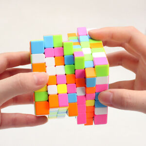 7x7x7 Magic Cube Ultra-Smooth Professional Speed Cube Twist Puzzle Rubiks Toy
