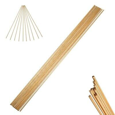 Brass Rods Wires Sticks 2mm250mm For Welding Brazing Soldering Parts Set Kit