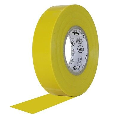 20 Rolls Yellow Vinyl Electrical Tape 34 X 60 Flame Retardant Ul Listed Rohs