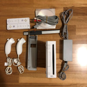 Nintendo Wii Game Console With Games