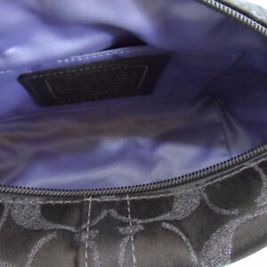 Coach Brown Metallic Signature Logo Studded Handbag Small 42099 London Ontario image 4