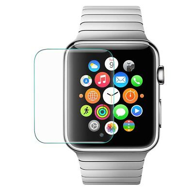 New Apple Watch iWatch 38mm Cover Tempered Glass Clear Face Screen Protector