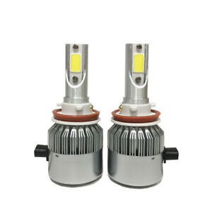 Ampoules (2) DEL H27/881/880 11000LM 6500K LED headlight bulb