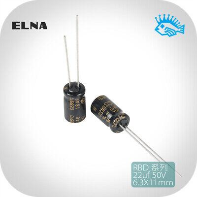10 pcs ELNA CE-BP 4.7UF 50V  AUDIO Grade Electrolytic Capacitors 85℃
