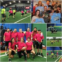 ONLY 2 DAYS TO JOIN A Co-ed, Adult Turf Flag Football League!
