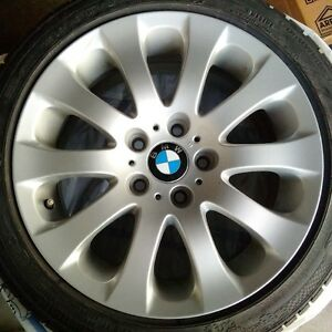 BMW Factory Rims and Tires with Excellent Tread! Kitchener / Waterloo Kitchener Area image 4