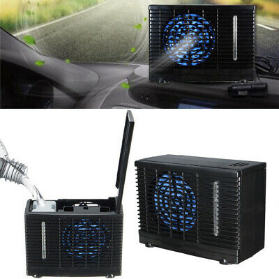12V Portable Car Air Conditioner Cooling Fan Water Ice Air Condition Home Cooler