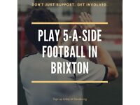 SPACES - Brixton MLC 5-a-side Football!