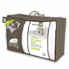 Snug Anti Allergy Duvet double size RRP £80