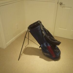 Ping Golf J model Stand bag deep red and navy