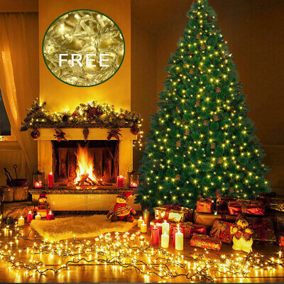 6Ft Artificial PVC Christmas Tree Home Decoration Holiday Outdoor Free Light US  Christmas Tree Outdoor Light