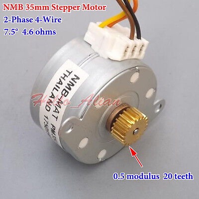 Gear stepper motor owner 39 s guide to business and for 4 wire bipolar stepper motor
