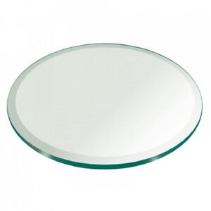 """Round glasstop for a dining table with 48"""" diameter"""