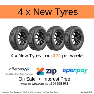155/65R13 73T A606 (4X Brand New Tyres) Brisbane, Gold Coast