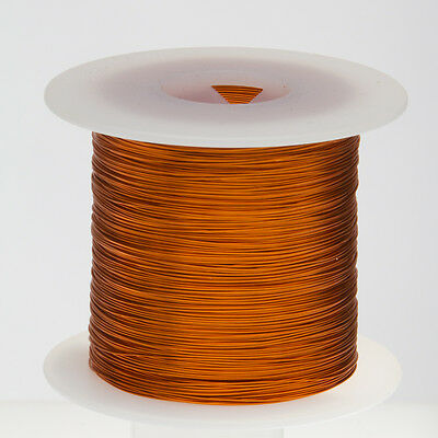 "20 AWG Gauge Enameled Copper Magnet Wire 1.0 lbs 314' Length 0.0343"" 200C Nat"
