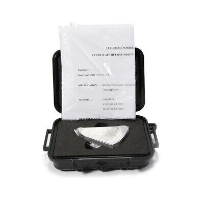 Ut Mab Miniature Angle Beam Rompas Calibration Testing Block Inch Version