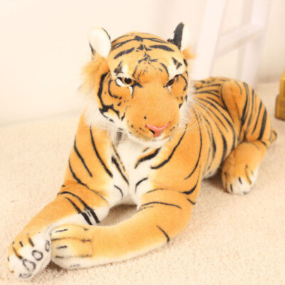 Tiger Soft Plush Siberian Bengal Wild Teddy Ornaments Stuffed Animal Doll Toy Bengal Tiger Stuffed Animal