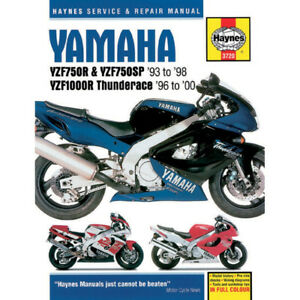 Haynes Repair Manual - Yamaha YFZ750R/SP/YZF1000R Thunderace