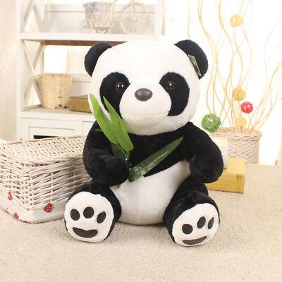 Panda Teddy Bear Stuffed Animal Plush Soft Toy Baby Kids Gift Doll White Black