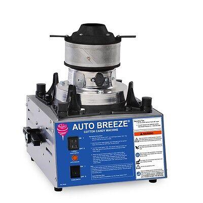 3052 - Auto Breeze Floss Cotton Candy Machine - Super Duper Tubular Machine
