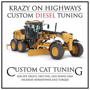 CAT Graders EGR & DPF Removal & MORE!