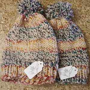 Knit and crochet hats