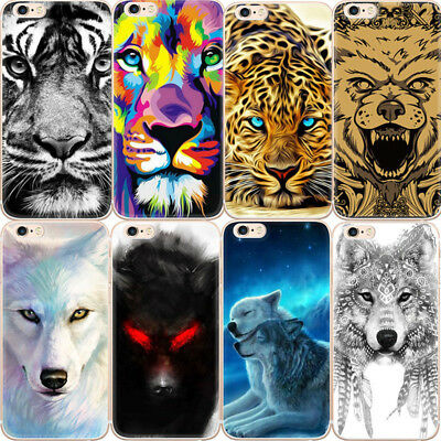 Cheetah Mobile Iphone Cases African Wolf Printed Pattern Design Fashion Cover