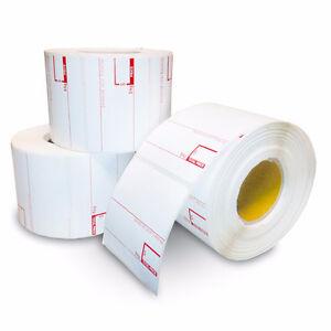 Étiquettes de balance,rouleaux thermals Interac,MEV,TPV,POS
