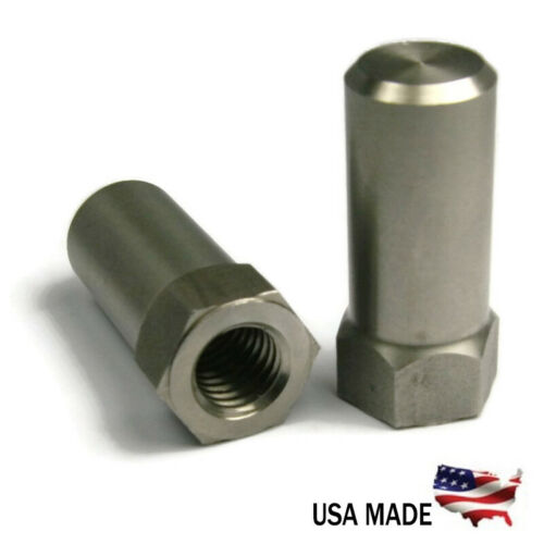 Extra Tall Flat Cap Acorn Hex Nuts 18-8 Stainless Steel USA - All Sizes+Qtys