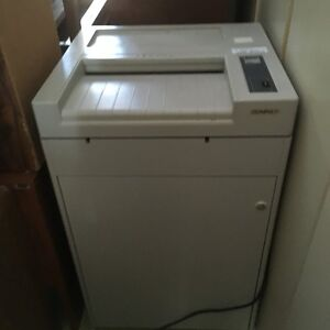 Ideal 4003 Used Commercial Paper Shredder for SALe