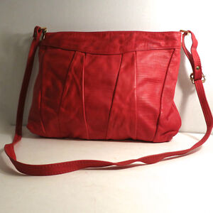 Leather Red Purse Handbag Bag by Leather by Mann Kitchener / Waterloo Kitchener Area image 1