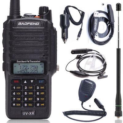 Baofeng UV-XR 10W Waterproof Two Way Radio Long Range Powerful Walkie Talkie Set