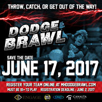 Dodge Brawl: a dodgeball tournament for charity