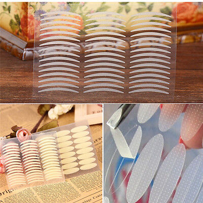 240 Pairs White Thin Invisible Double Eyelid Adhesive Eyes Tape Sticker Best (Best Invisible Eyelid Tape)