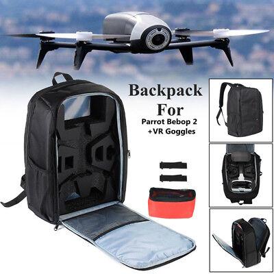Viaje Bolsa de Hombro Funda Transporte Caja para Parrot Bebop 2 Drone Power FPV