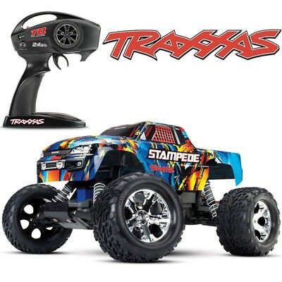 NEW Traxxas Stampede XL-5 2WD RC Truck Rock-N-Roll Edition 36054-4 FREE SHIPPING