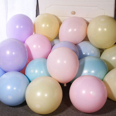 10/100pcs Latex Candy Pastel Balloons Home Wedding Party Birthday Decor 10inch (Pastel Balloons)