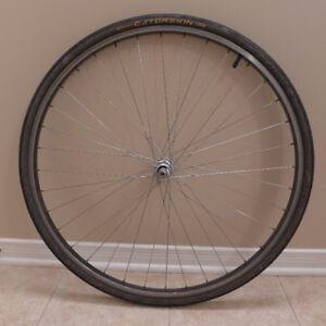 Ukai 27 front wheel, made in Japan, w Gatorskin