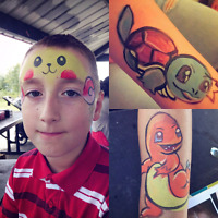 Face painting at your next event!