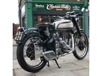 1948 Norton ES2 500 Classic Vintage, Brooklands Style Exhaust, Beautiful Bike.