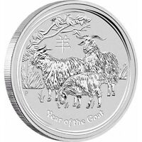 piece en argent Chevre/silver bullion Goat 2015 1 oz/ounce/once