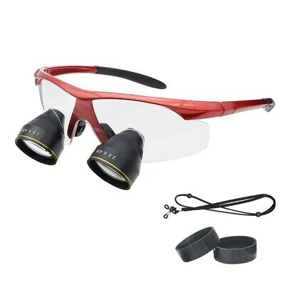 2.5x Ultra-light Professional Dental Glasses Medical Magnifier Binocular Loupes