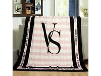 fleece blanket bed sofa throw