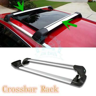 2* Aluminum Alloy Car Roof Rack Cross Bars Replace For Volkswagen CC 2009-2015