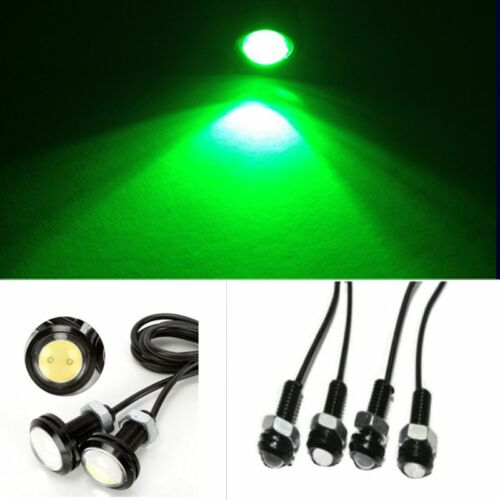 4x Green LED Boat Light Waterproof Outrigger Spreader Transom Underwater Troll