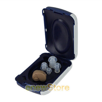 Invisible Best Sound Voice Amplifier Adjustable Volume Hearing Aids Aid K 80