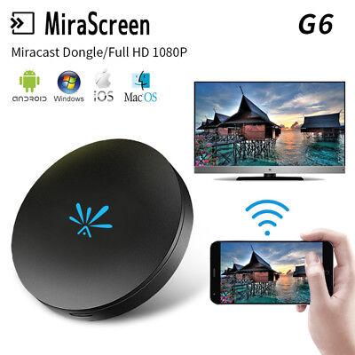 Chromecast G6 WiFi TV Stick HD1080P Dongle Airplay Chromecast DLNA HDMI Receiver