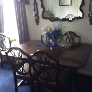 Mahogany Dining set, Buffet & China Cabinet