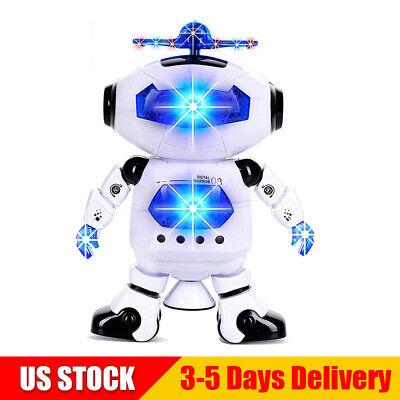 Toys For Boys Robot Kids Toddler Robot Dancing Musical Toy Birthday Xmas Gift UA